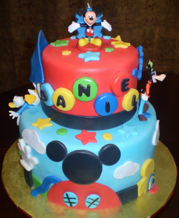 Mickey Mouse Clubhouse Birthday Cake Mickey Mouse Cake Decoration Ideas Little Birthday Cakes