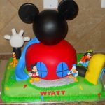 Mickey Mouse Clubhouse Birthday Cake Mickey Mouse Clubhouse Birthday Cake Classic Style Funny Mickey