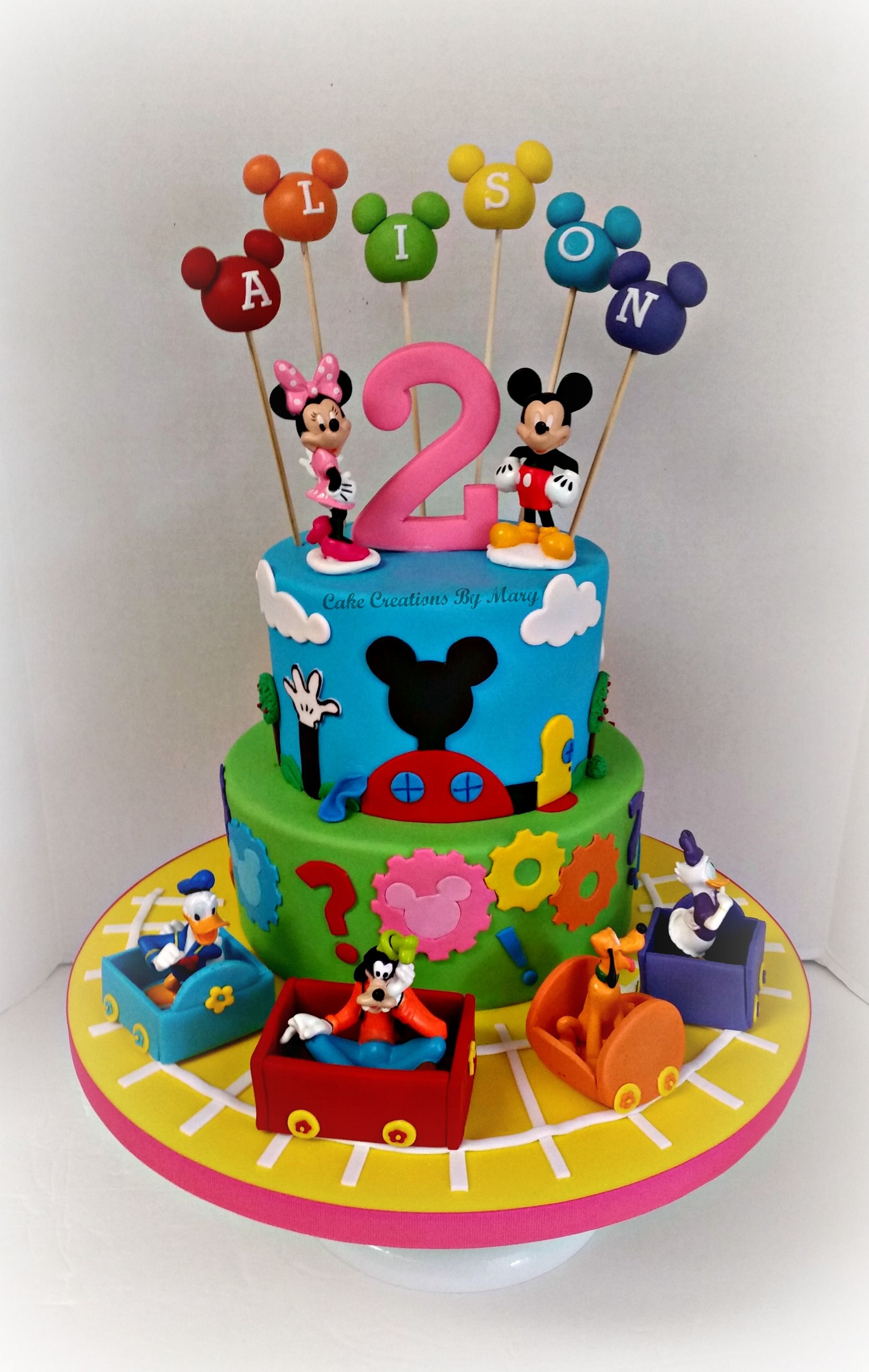 32+ Pretty Image of Mickey Mouse Clubhouse Birthday Cake