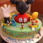 Mickey Mouse Clubhouse Birthday Cake Mickey Mouse Clubhouse Cake Recipes Mickey Mouse Birthday Cake