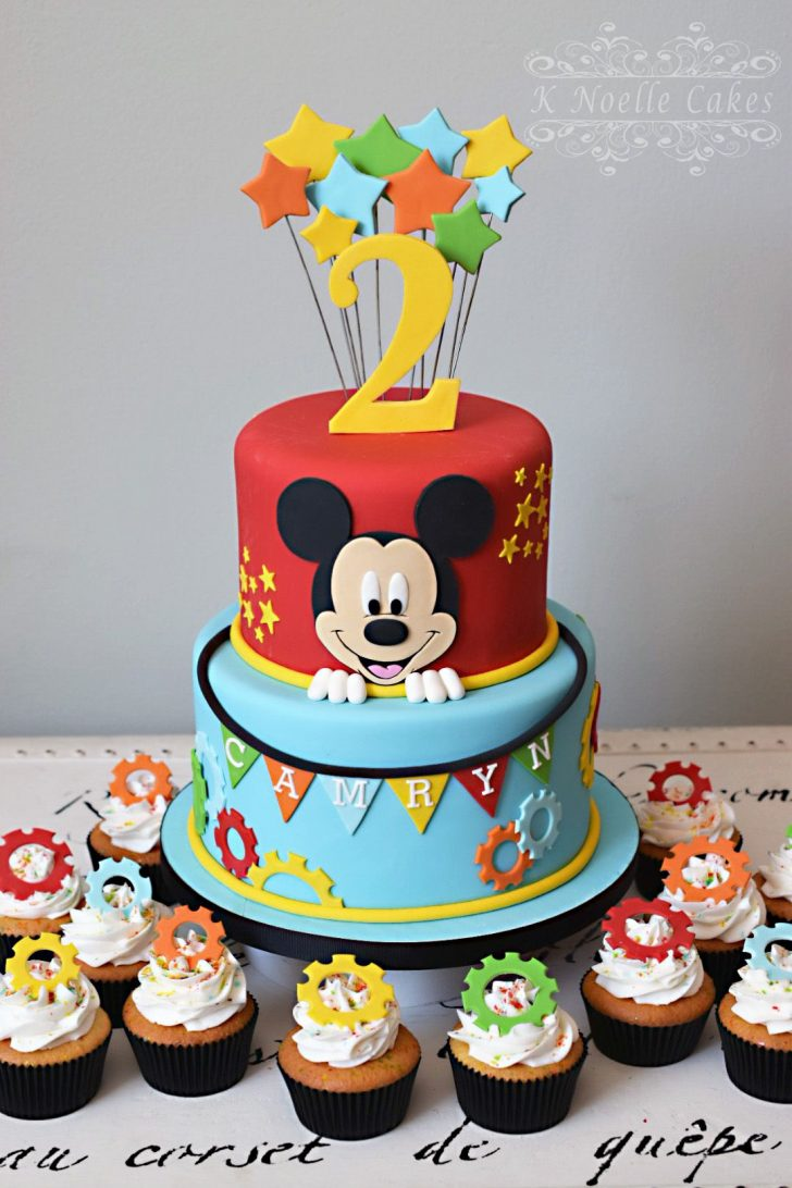 Mickey Mouse Clubhouse Birthday Cake Mickey Mouse Clubhouse Theme Cake K Noelle Cakes Cakes K