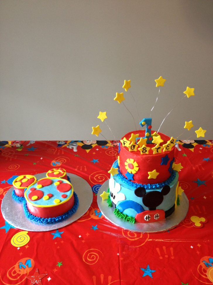 Mickey Mouse Clubhouse Birthday Cake Mickey Mouse Clubhouse Theme With Smash Tootles Stephanie Shaws