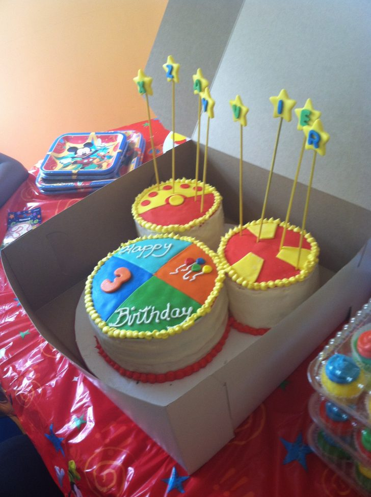 Mickey Mouse Clubhouse Birthday Cake Toodles Mickey Mouse Clubhouse Birthday Cake W Matching Cupcakes