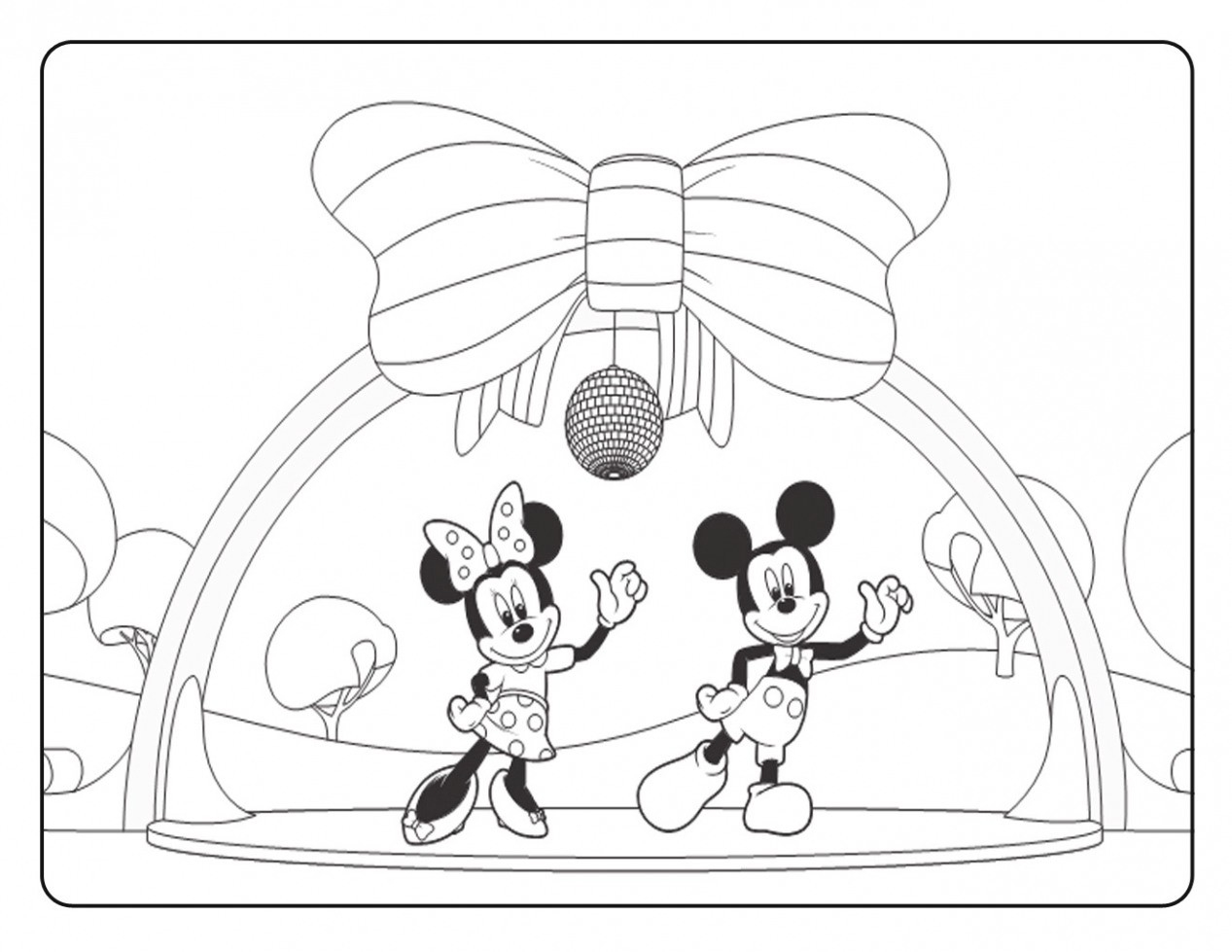 21+ Creative Photo of Mickey Mouse Clubhouse Coloring Pages