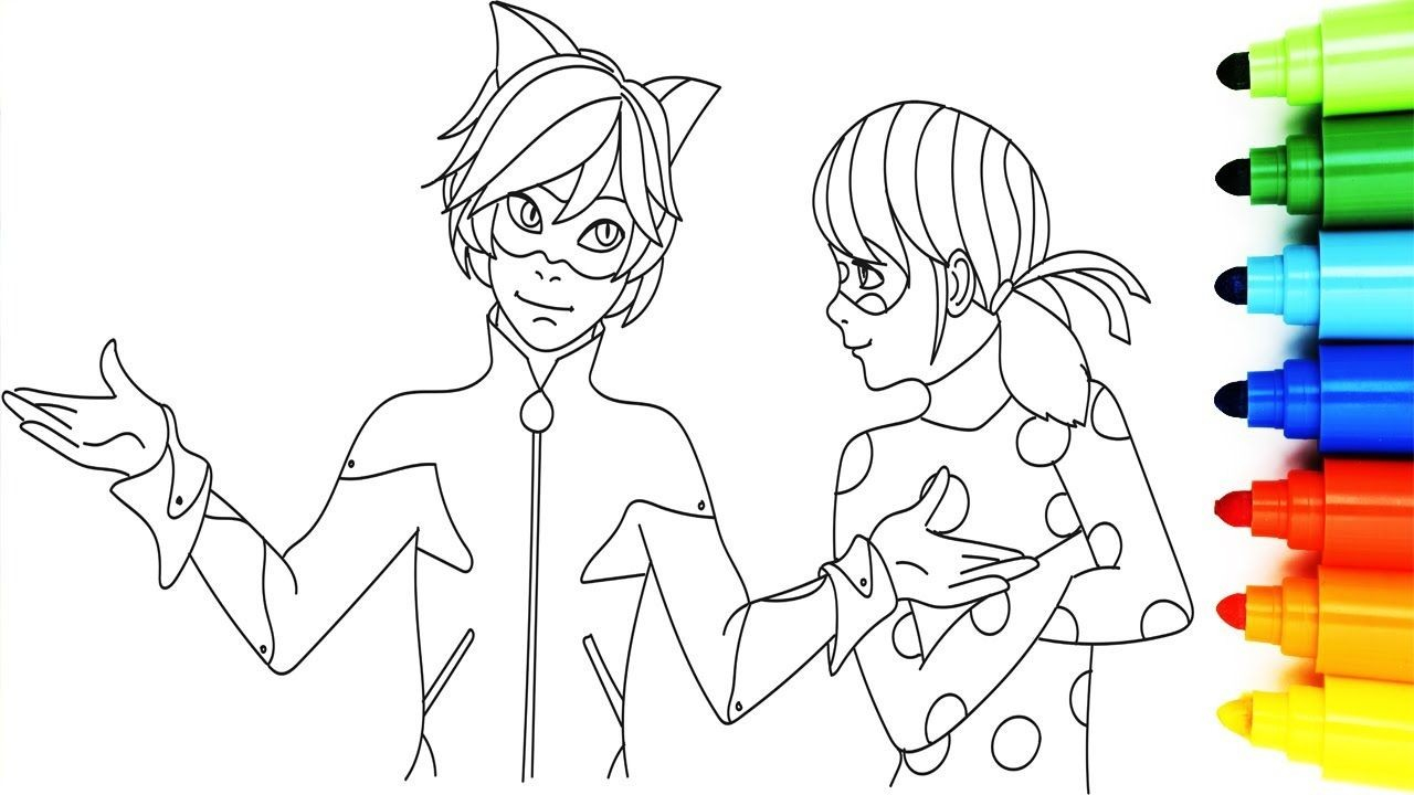 Miraculous Ladybug Coloring Pages Ladybug And Cat Noir Coloring Pages Fresh How To Draw Miraculous