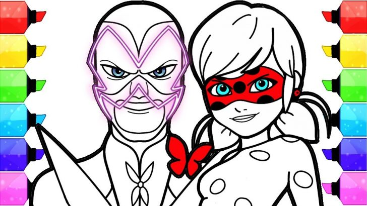 Miraculous Ladybug Coloring Pages Miraculous Ladybug Coloring Pages How To Draw And Color Ladybug