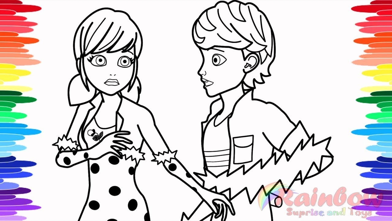 Miraculous Ladybug Coloring Pages Miraculous Ladybug Coloring Pages The Big Reveal How To Draw And