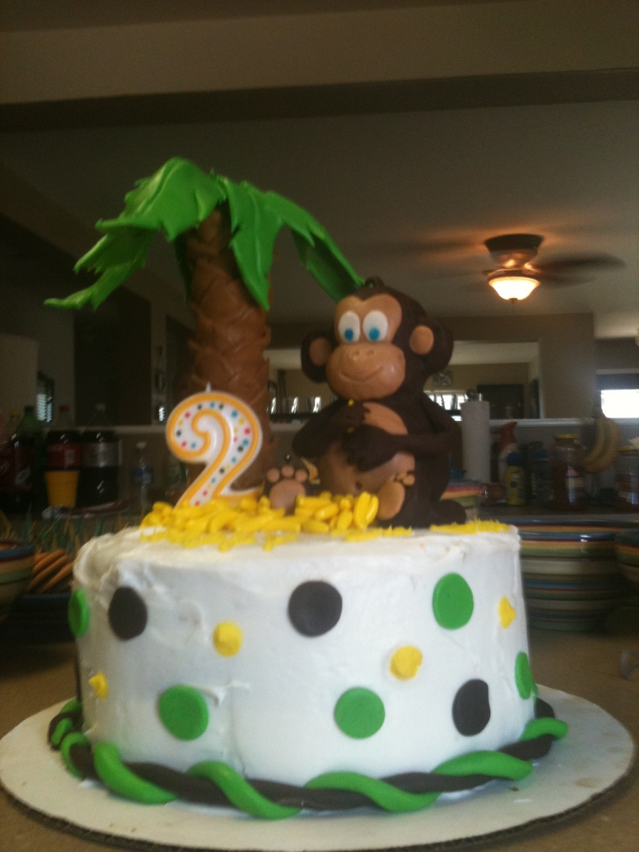 Monkey Birthday Cake Monkey Birthday Cake Cakecentral