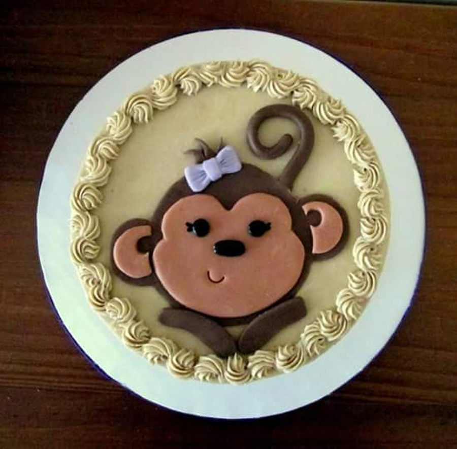 Monkey Birthday Cake Year Of The Monkey Birthday Cake Cakecentral