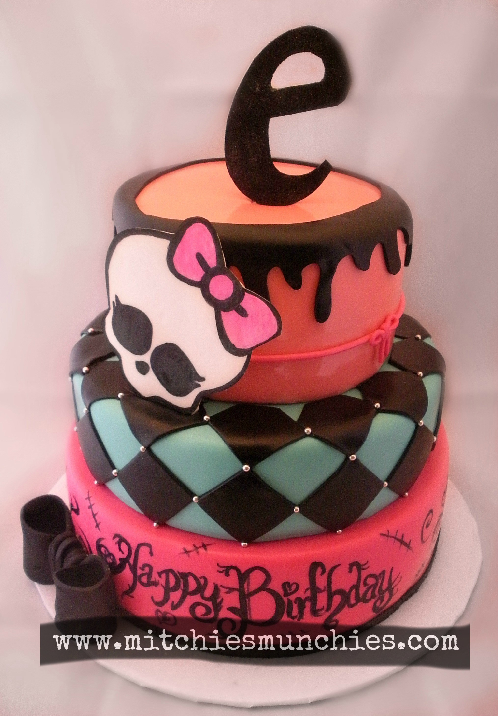2914 In 32 Brilliant Picture Of Monster High Birthday Cake