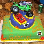 Monster Truck Birthday Cake Baking Memories Monster Truck Birthday Cake