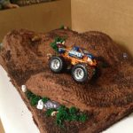 Monster Truck Birthday Cake Cakecreated Monster Truck Cake