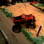 Monster Truck Birthday Cake Monster Truck Birthday Cake Blakes 5th B Day Youtube