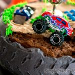 Monster Truck Birthday Cake Monster Truck Birthday Party Simple Practical Beautiful