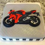 Motorcycle Birthday Cakes Honda Motorcycle Birthday Cake Thanetcraft