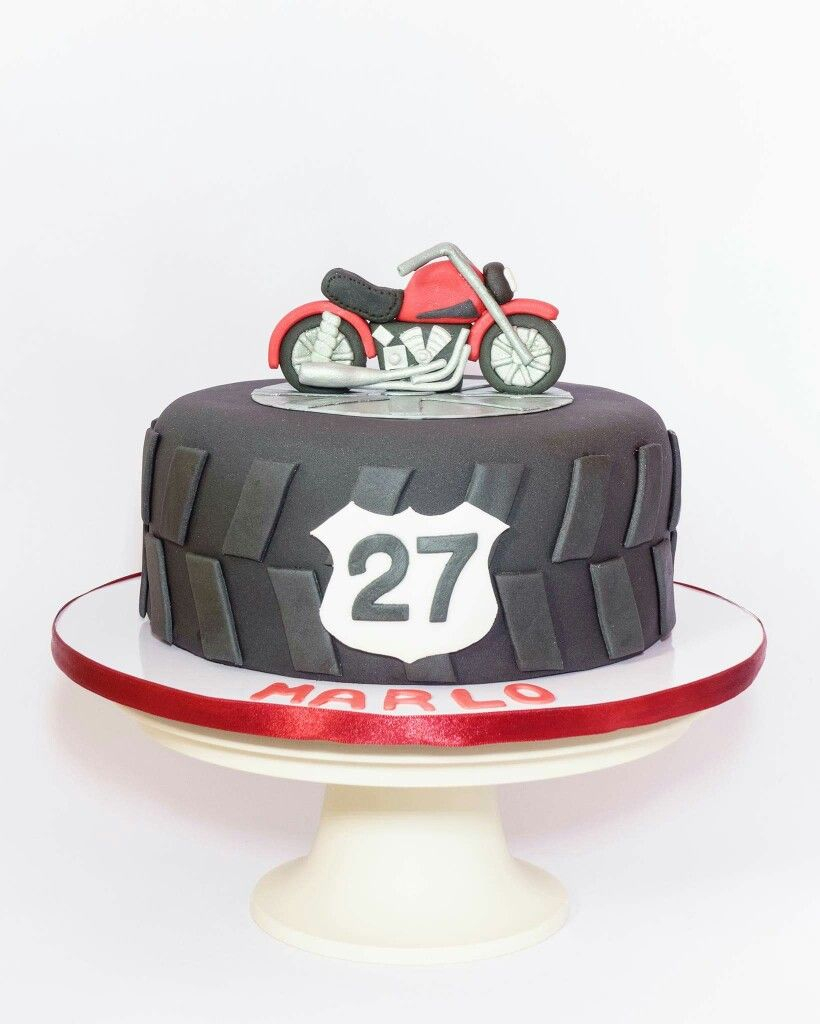 23+ Exclusive Image of Motorcycle Birthday Cakes