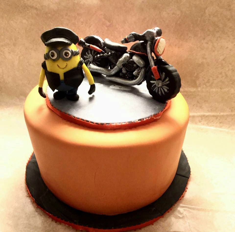 Motorcycle Birthday Cakes Motorcycle Birthday Cake Cakecentral