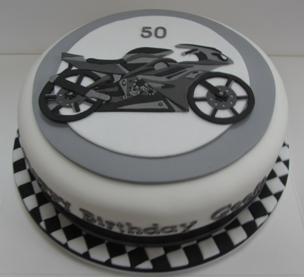 Motorcycle Birthday Cakes Motorcycle Birthday Cake Justine Flickr