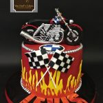 Motorcycle Birthday Cakes Van Earls Cakes Bmw Motorcycle Birthday Cake
