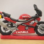 Motorcycle Birthday Cakes Yamaha Motorbike Birthday Cake Topper This Yamaha Motorbik Flickr