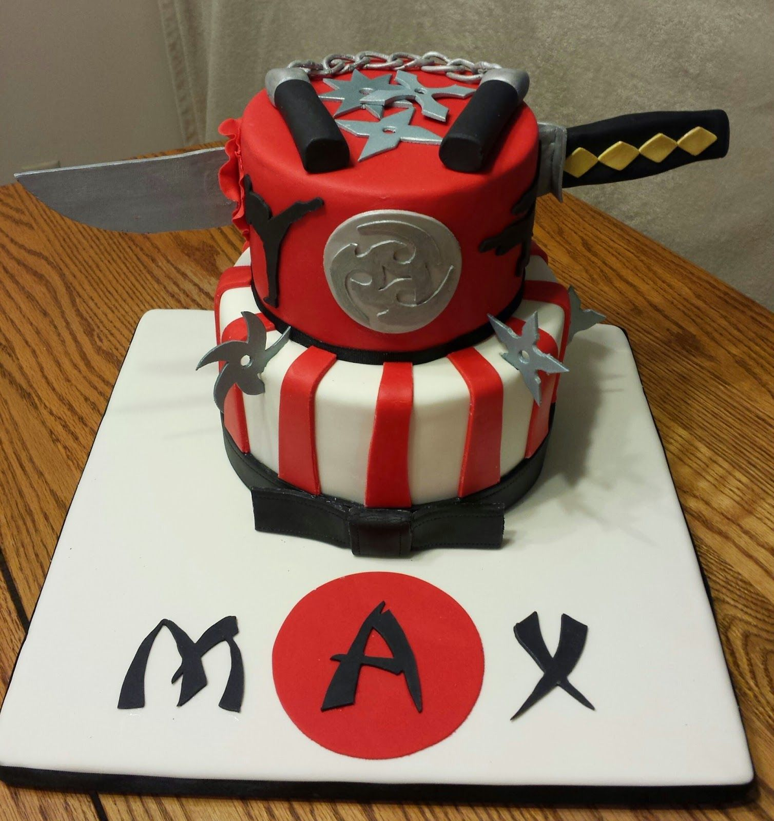 23+ Excellent Image of Ninja Birthday Cake