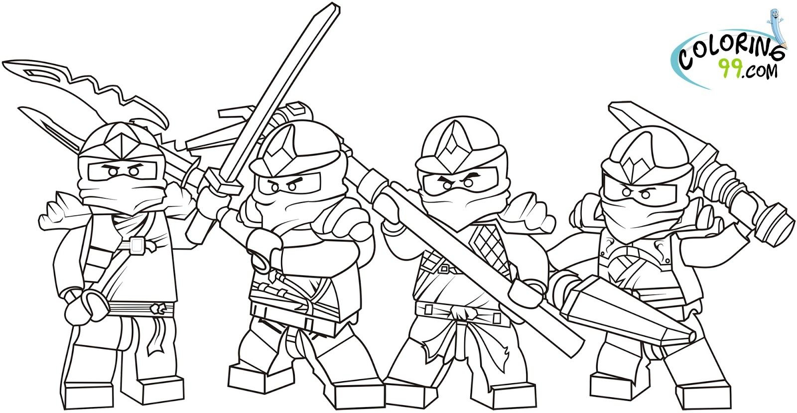 21+ Excellent Image of Ninja Coloring Pages