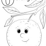 Orange Coloring Page Letter O Is For Orange Coloring Page Free Printable Coloring Pages