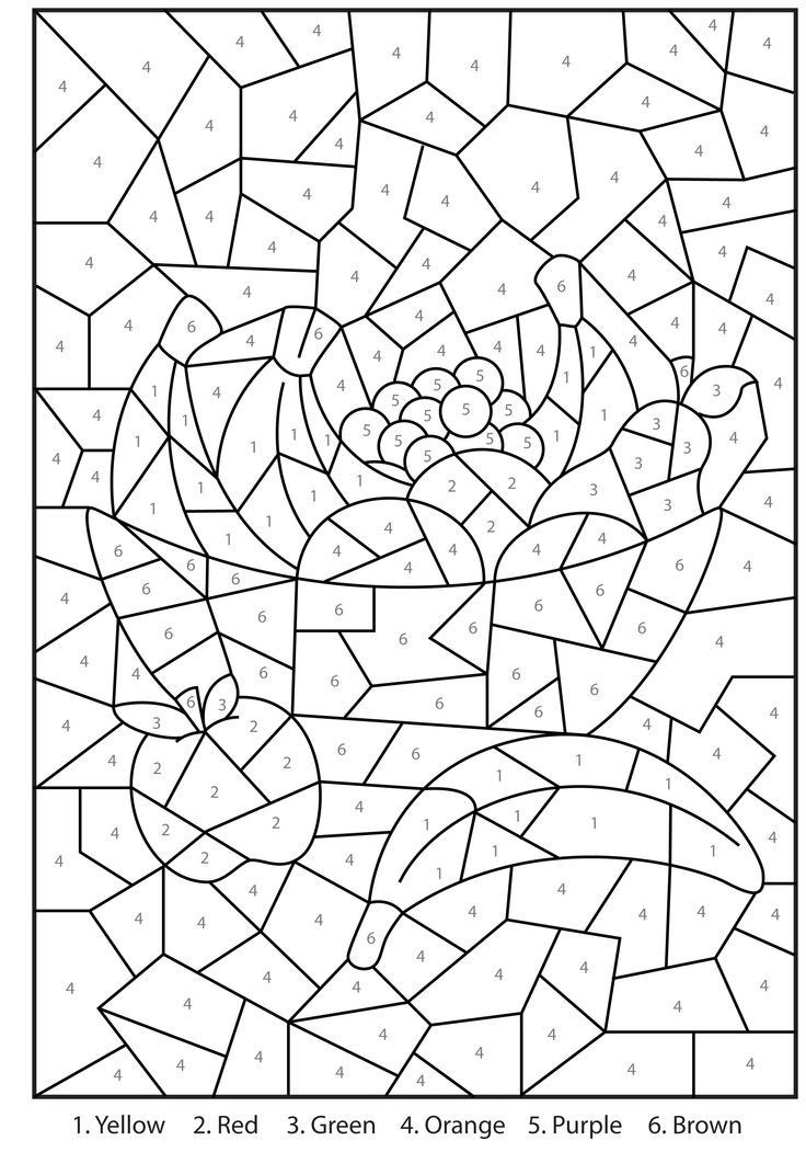 Orange Coloring Page Orange Coloring Page Inspirational Images Number 4 Coloring Page