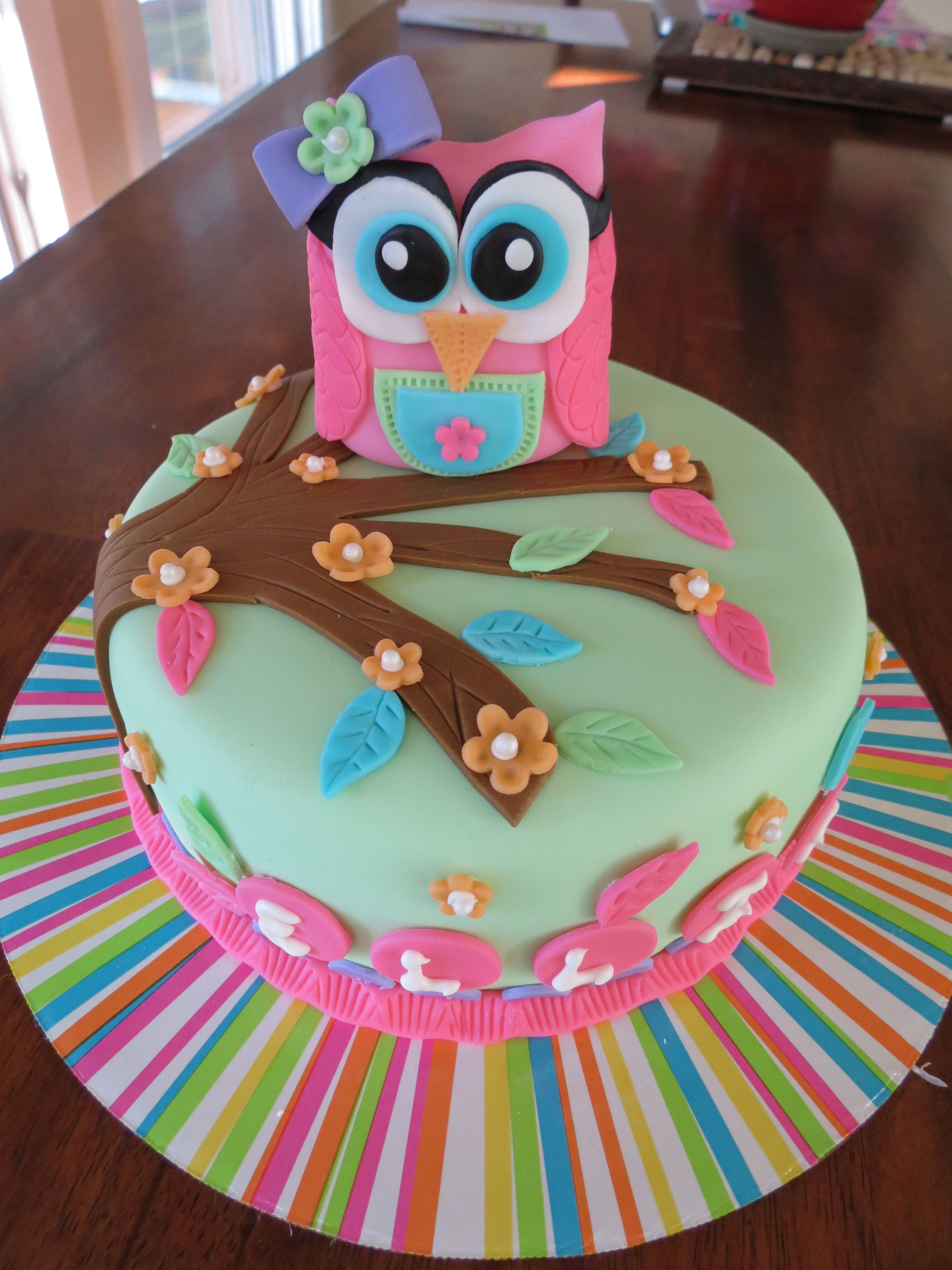 3000 X 4000 In 32 Amazing Picture Of Owl Birthday Cake