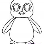 Penguin Coloring Page Ba Penguin Coloring Pages
