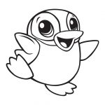 Penguin Coloring Page Ba Penguin Coloring Pages Getcoloringpages Collection Of Cute
