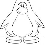 Penguin Coloring Page Club Penguin Coloring Pages