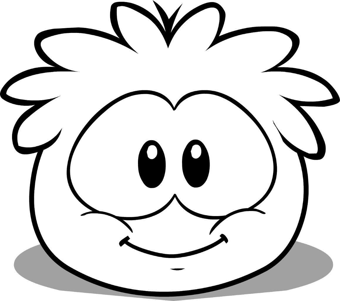 Penguin Coloring Page Club Penguin Coloring Pages Of Puffles 13 Cute Ba Penguins