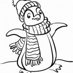 Penguin Coloring Page Coloring Page Winter Penguin Coloring Pages Page Tremendous Sheets
