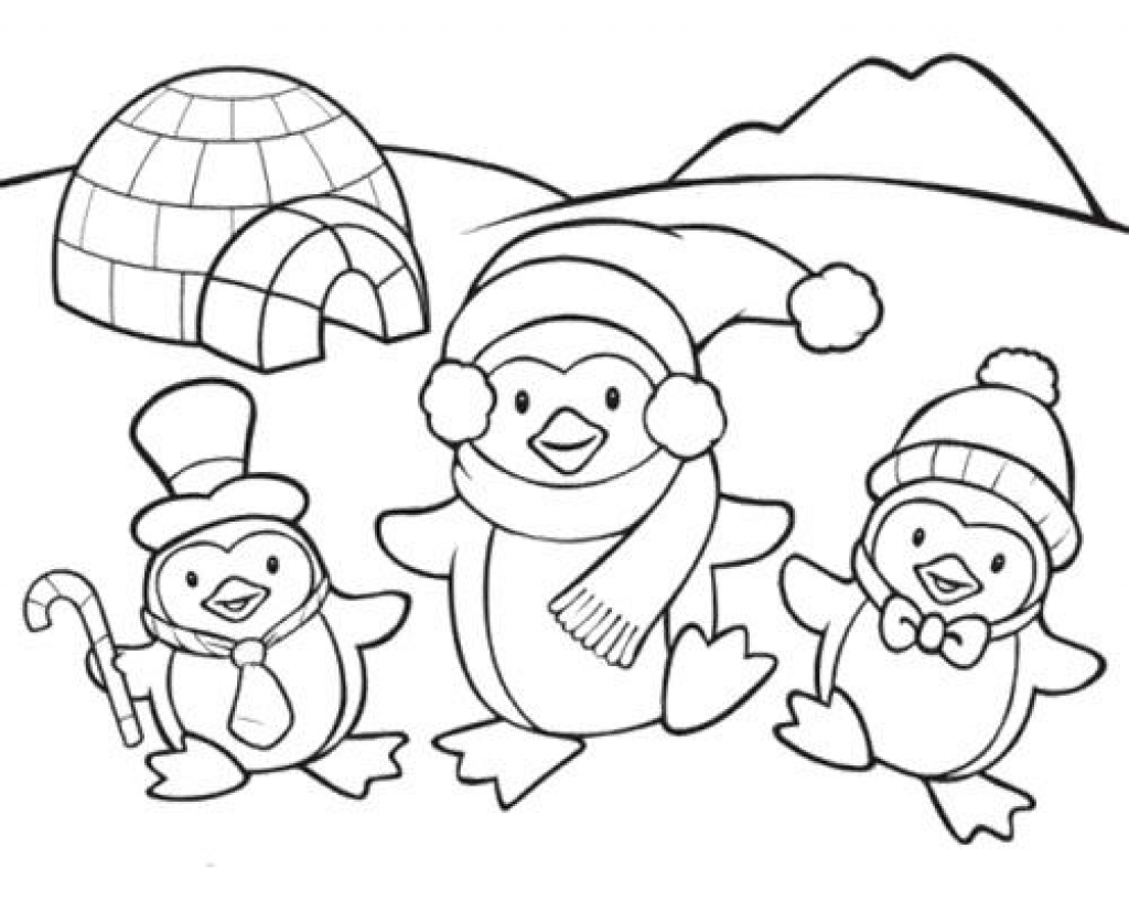 Penguin Coloring Page Penguin Coloring Page Wonderful Coloring Pictures Of Penguins 16