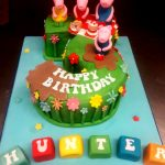 Peppa Pig Birthday Cake Peppa Pig Birthday Cake M Rays Bakery