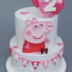 Peppa Pig Birthday Cake Peppa Pig Cake Little Hill Cakes