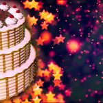 Pictures Of A Birthday Cake Happy Birthday Cake Loopable Abstract Background Motion Background