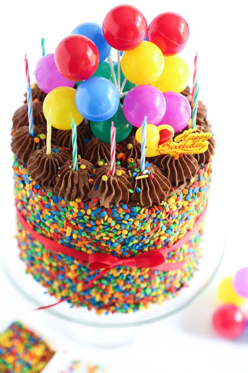 Pictures Of A Birthday Cake The Birthday Cake Sprinkle Bakes