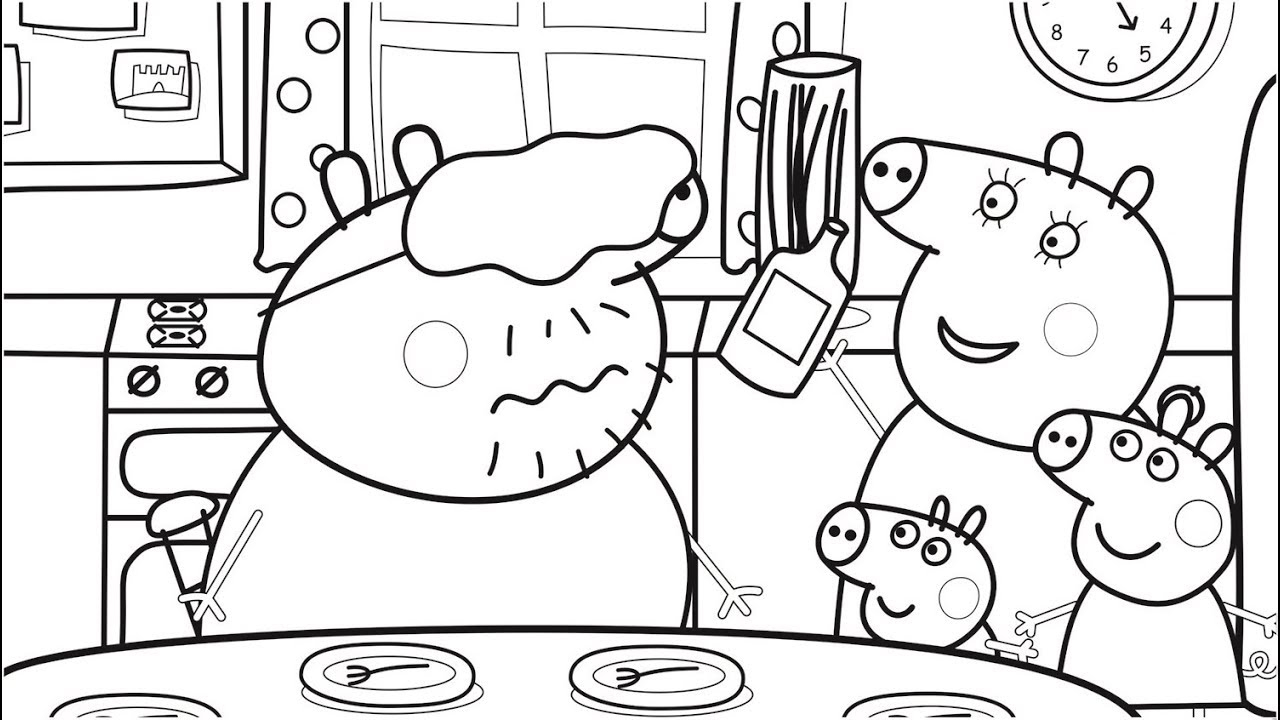 21+ Brilliant Picture of Pig Coloring Pages