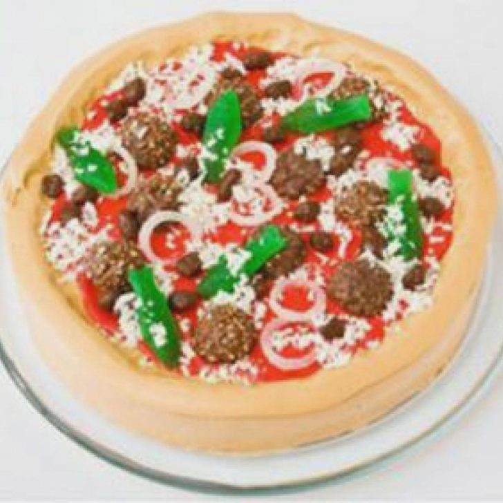 Pizza Birthday Cake How To Make A Pizza Birthday Cake Colorfulbirthdaycakesga