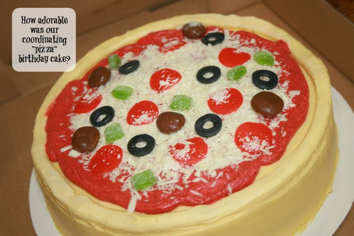 Pizza Birthday Cake Pizza Birthday Cake Archives Over The Top Mommy