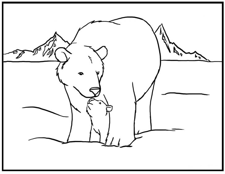 Polar Bear Coloring Pages Free Printable Polar Bear Coloring Pages For Kids Awesome 15 Unique