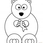 Polar Bear Coloring Pages Polar Bears Coloring Pages Free Coloring Pages