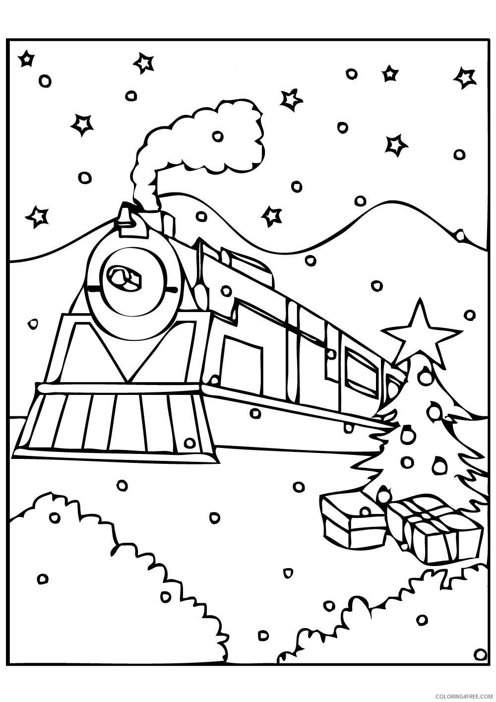 Polar Express Coloring Pages Coloring Pages Amazing Free Dot Marker Coloring Pages Photo Ideas
