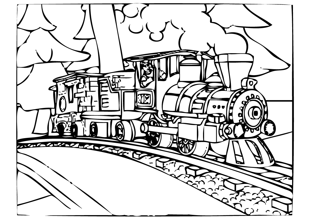 25+ Elegant Picture of Polar Express Coloring Pages