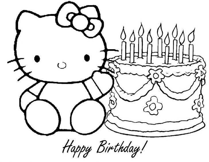 Printable Birthday Coloring Pages Coloring Pages Happy Birthday Color Sheets Printable Birthday