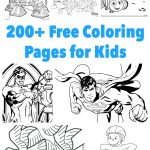 Printable Coloring Pages For Kids 200 Printable Coloring Pages For Kids Frugal Fun For Boys And Girls
