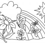 Printable Coloring Pages For Kids Free Printable Flower Coloring Pages For Kids Best Coloring Pages