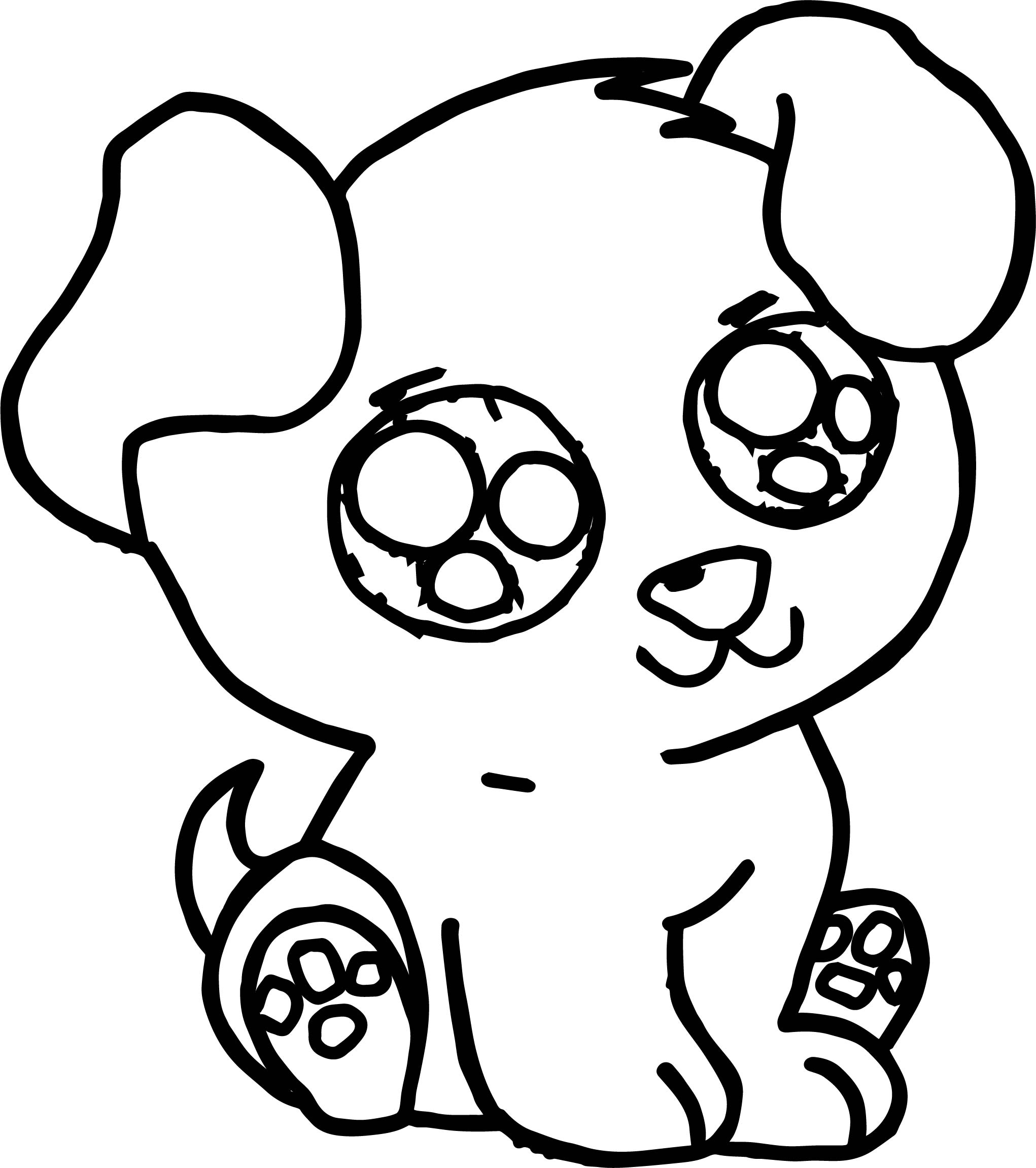 Puppy Dog Coloring Pages Cute Puppy Free Images Puppy Dog Coloring Page Wecoloringpage